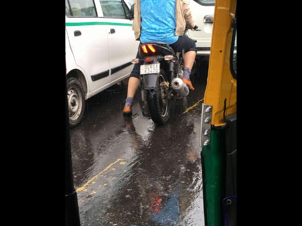 L'India è un caotico crocevia a forma di cuore