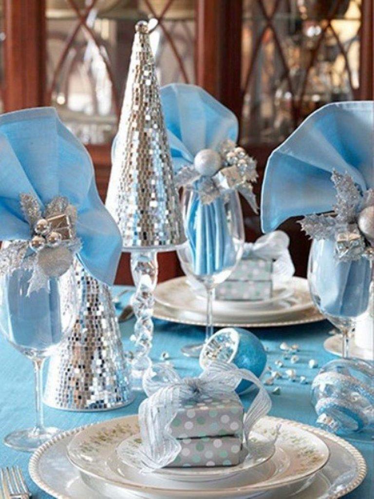 argento e azzurro