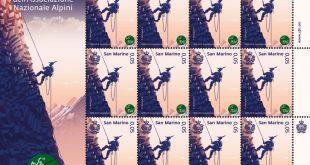 Il Titano emette tre francobolli dedicati al Centenario dell'Ana
