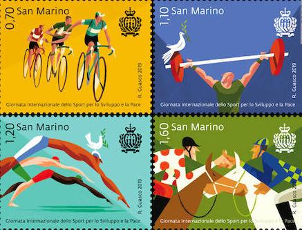 Coppi e Bartali ancora insieme in un francobollo